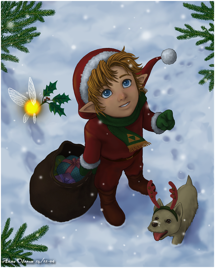 Link was Santa this year too xD